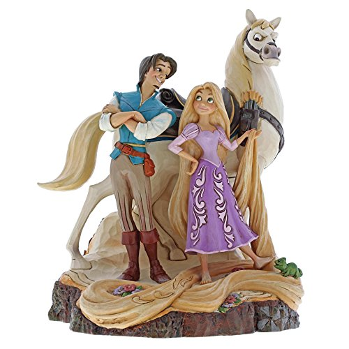 ditions Tangled Carved by Heart Figurine 4059736 (Disney Collectible Figurines)
