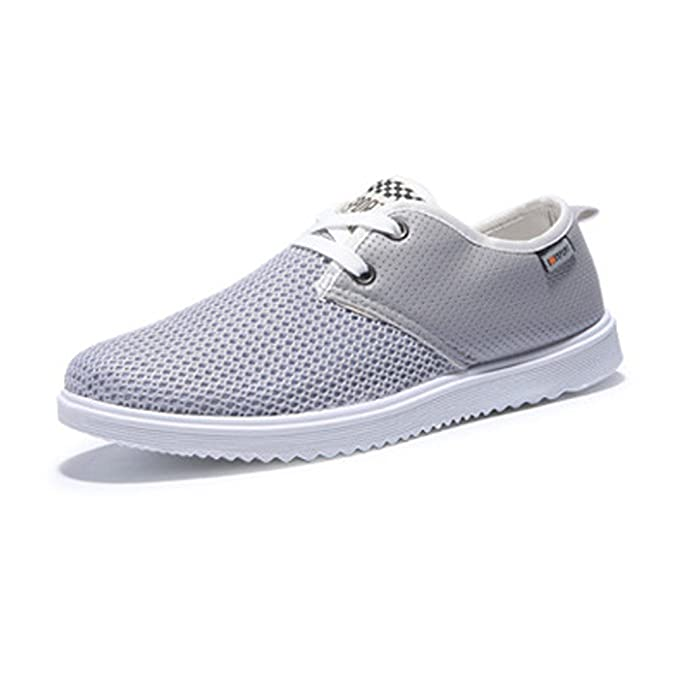 Low-Top Flat Loafers Comfortable Breathable Gauze Shoes Summer Lightweight:  Amazon.co.uk: Shoes & Bags