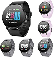 TLfyajJ Smartwatch Impermeable Reloj Fitness v11 Blood Pressure ...