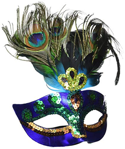Peacock Feather Mask -
