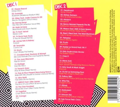 Ministry of sound: clubbers guide 2009 by ministry of sound uk.