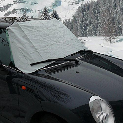 Auto Magnet Scheibenabdeckung Autoabdeckung Frostschutz Sonnenschutz Windschutz 178x96cm Polyester