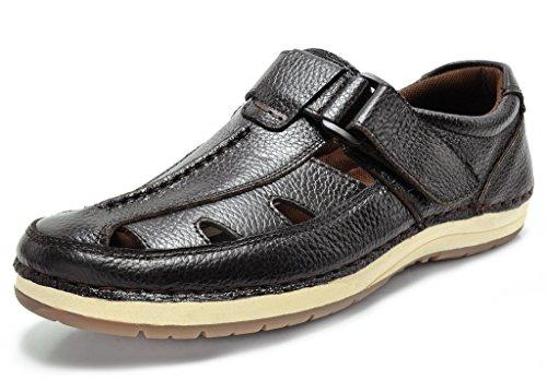 Bruno Marc Men's Havana Outdoor Fisherman Sandals