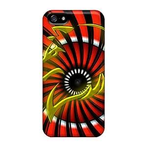 New Design Shatterproof RLhHURA2896eWRxh Case For Iphone 5/5s (sticker Wolf)