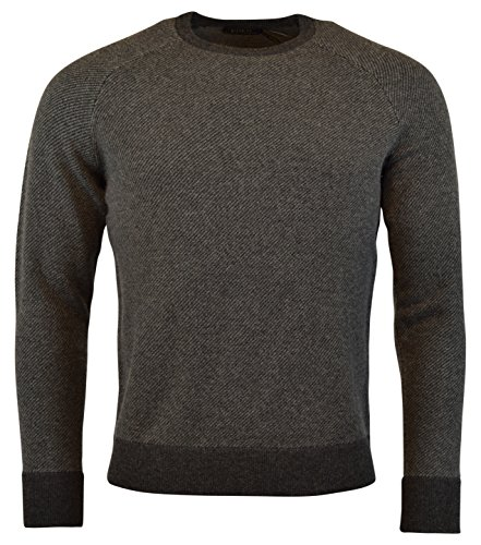 (Polo Ralph Lauren Men's Crewneck Merino Wool Pullover Sweater - S - Grey)