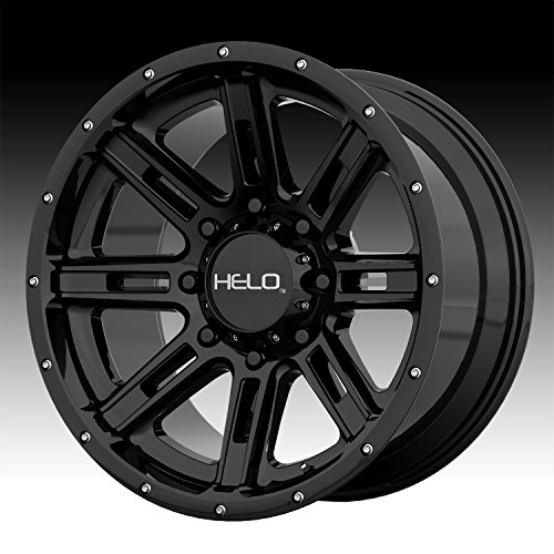HELO HE900 Gloss Black Wheel Chromium (hexavalent compounds) (20 x 10. inches /5 x 78 mm, -24 mm Offset)