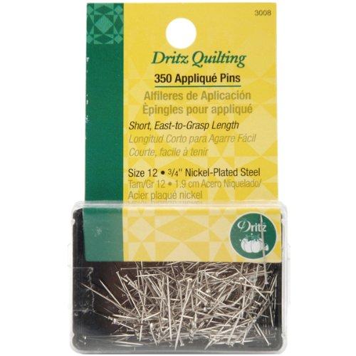 Dritz Quilting Applique Pins-3/4