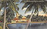 The Everglades Club Palm Beach, Florida Postcard