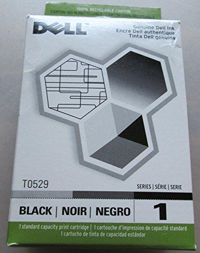 Genuine Dell Brand black ink T0529 for Dell printer A920 720 ()