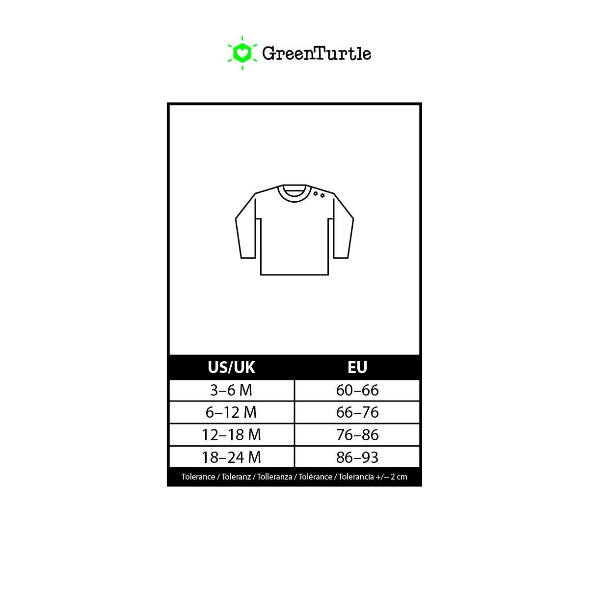 66-93 Green Turtle T-Shirts Lustiges Baby Geschenk Rudolph Lichterkette Unisex Baby Langarmshirt Gr