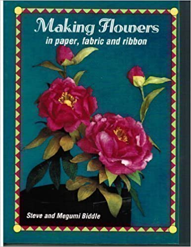 Making flowers in paper fabric and ribbon megumi biddle making flowers in paper fabric and ribbon megumi biddle 9780715301180 amazon books mightylinksfo