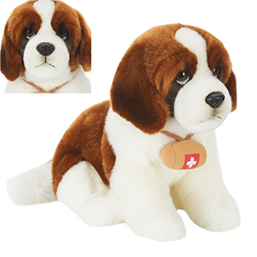 "EXCLUSIVE Animal Alley - 10"" ST. BERNARD DOG - His Adorably Realistic Face is Sure to Melt Your Heart! (Toys R Us Exclusive)"