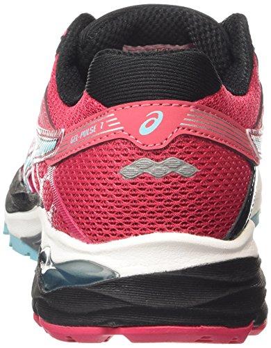 Pink Running 7 Spring Shoes Pulse Gel Women's Black Azalea 2187 Asics Bud YfURxqFwW