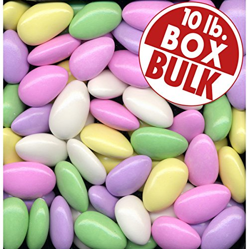 Assorted Almond - Assorted Jordan Almonds 10 lbs bulk
