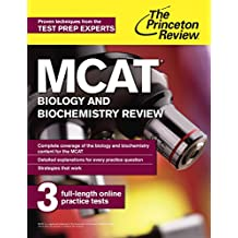 MCAT Biology and Biochemistry Review: New for MCAT 2015 (Graduate School Test Preparation)