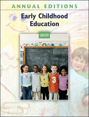 Annual Editions: Early Childhood Education 08/09