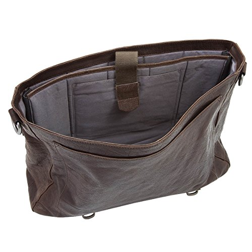 strellson Coleman Briefbag L Dark Brown
