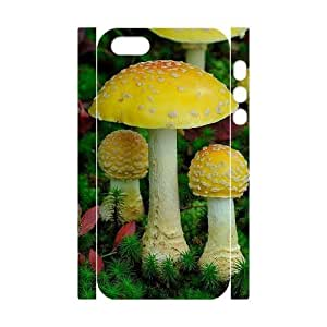 DIY Phone Case with Hard Shell Protection for Iphone 5,5S 3D case with Mushroom lxa#988944