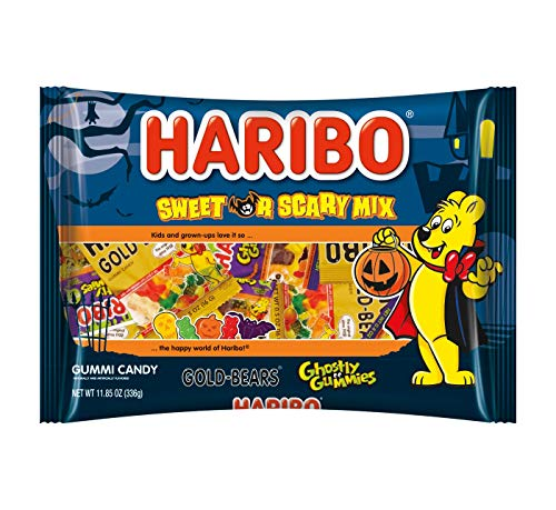 Haribo Halloween Sweet or Scary Mix - 22ct/11.85oz