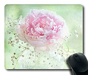 Design Mouse Pad Desktop Laptop Mousepads One Beautiful Flowers Comfortable Office Mouse Pad Mat Cute Gaming Mouse Pad