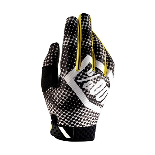 100% Ridefit Glove - Men's Blurred Camo, M
