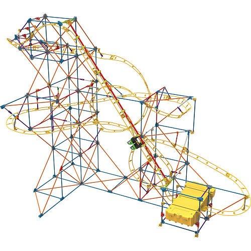 Knex Hyperspeed Hangtime Roller Coaster Building Set