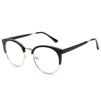 hibote Cat Eye Glasses Frame Clear Lens for Men Women #1 - Xier ...
