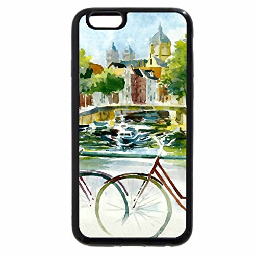 iPhone 6S / iPhone 6 Case (Black) Venice Canal
