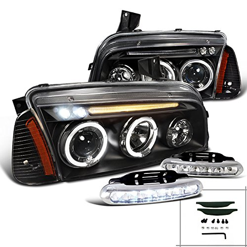 Charger Projector Headlights Corner Lights