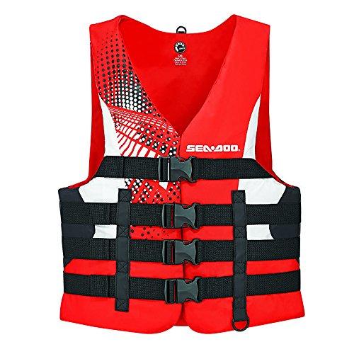 世界の BRP Sea-Doo メンズ L ナイロンモーション PFD ジャケット ライフベスト ナイロンモーション ジャケット 大人用 2X L レッド B01MY4KEJT, かわいい雑貨のお店 まーぶる:38282368 --- a0267596.xsph.ru