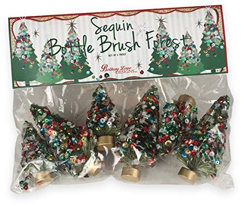 Bethany Lowe Designs Bottle Brush Tree Decorations
