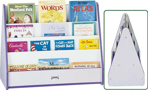 Rainbow Accents 3506JCWW112 Double Sided Pick-A-Book Stand, Navy by rainbow accents