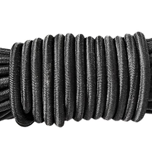 """MagiDeal 16.4ft 4mm(0.16"""") Heavy Duty Elastic Bungee Rope Shock Cord Suitcase Luggage Roof Rack Tie Down for Securing Boat/Kayak Covers 9 Colors Available"""