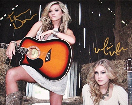 Maddie & Tae country music duo reprint signed autographed photo RP from Loa_Autographs