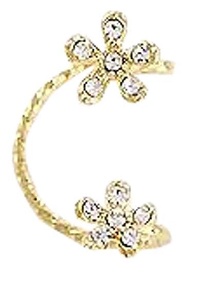 Amazon.com: Fashion Ear Bone Ear Clip No Pierced Earrings Fake ...