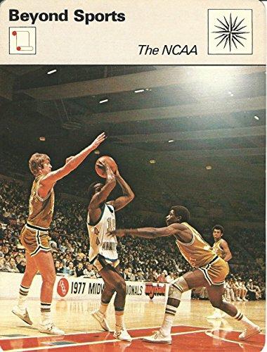 1977-79 Sportscaster Card, 25.14 Basketball, NCAA ()