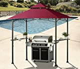 ABCCANOPY Grill Shelter Replacement Canopy Roof