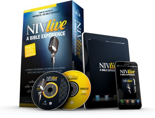 NIV LIVE, Audio CD: A New Bible Experience cover