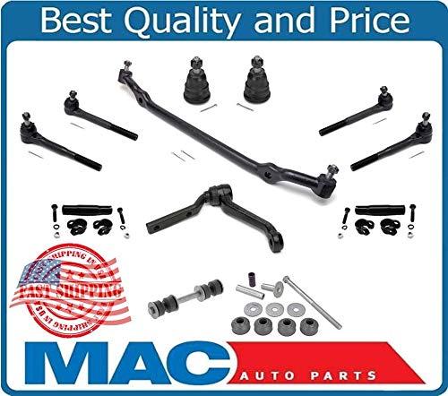 (82-92 Camaro Firebird Ball Joint Tie Rod Idler Arm Center Link 12 Pc Steering Suspension Kit)