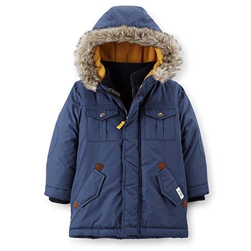 4in 1 Fur Hood Jacket - 1