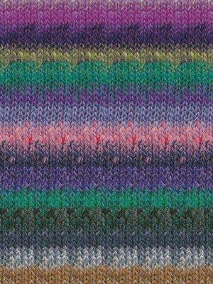 Noro Silk Garden Yarn 420 Purple, Grey, Green