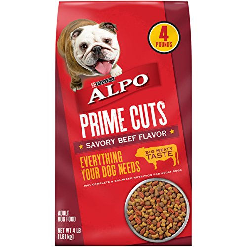 Alpo Pet Foods (Purina ALPO Savory Beef Flavor Dog Food - (6) 4 lb. Bag)