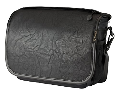 Tenba Switch 7 Camera Bag - Black Faux Leather (633-301)