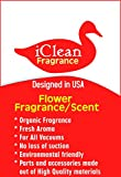 Vacuum Air Freshener Sticks Flower Fragrance/Scent 6Pk By iClean Fragrance