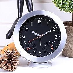 Ayzr Electronic Minimalist Fashion Alarm Clock Multifunctional Creative Home Office Bedroom Living Room Clock