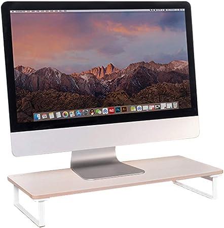 Monitor de la computadora portátil Soporte de sobremesa con la canalización Vertical de Almacenamiento for Monitor de la Impresora/Ordenador portátil/TV /fax/Ordenador/iMac (Size : 135mm): Amazon.es: Hogar