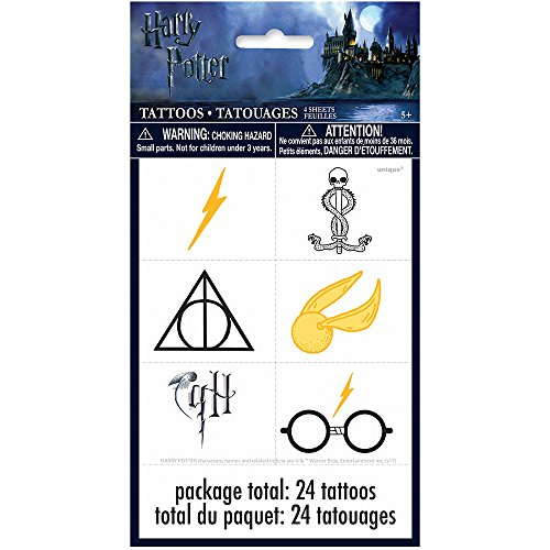Harry Potter Tattoos, 24ct]()