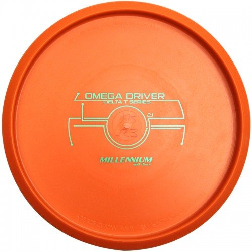 Millennium DT Omega Driver Putter Golf Disc [Colors may vary] - - Omega Disc