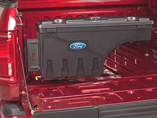 Drivers Side Lock Box (Oem Factory Stock Genuine 2015 Ford F-150 F150 LH Driver Side Pivot Swing Lock Lockable Locking Tool Storage Bed Box Case)