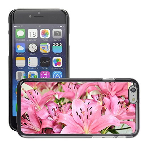 "Premio Sottile Slim Cassa Custodia Case Cover Shell // V00001771 Fleurs Lily // Apple iPhone 6 6S 6G 4.7"""